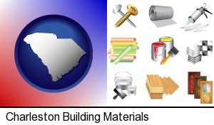 Charleston, South Carolina - representative building materials
