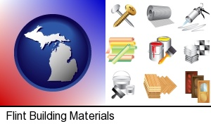 Flint, Michigan - representative building materials