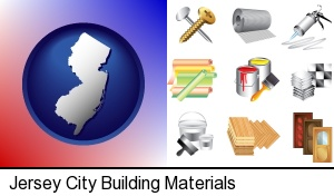 Jersey City, New Jersey - representative building materials