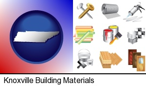 Knoxville, Tennessee - representative building materials