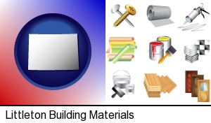 Littleton, Colorado - representative building materials