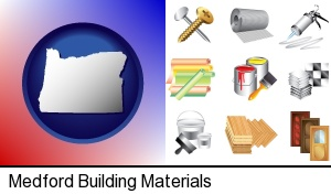 Medford, Oregon - representative building materials