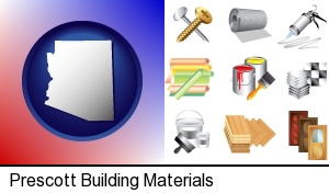 Prescott, Arizona - representative building materials