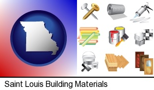 Saint Louis, Missouri - representative building materials